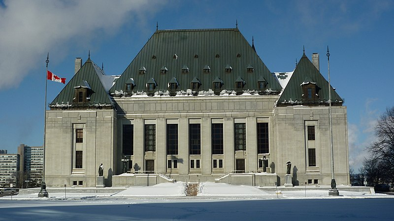 File:Supreme Court of Canada Building - Winter2012.JPG