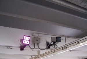 English: Swiss European surveillance: facial r...