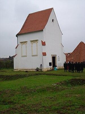 Sveta Jelena - Image: Sveta Jelena (Croatia) ostaci samostana i kapela
