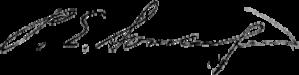 Pehr Evind Svinhufvud - Image: Svinhufvud Signature
