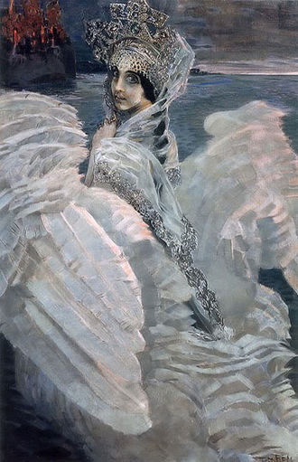 Mikhail Vrubel - The Swan Princess, 1900