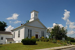 English: First Baptist Church, Swansea, Massac...