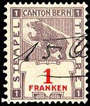 Switzerland Bern 1903 revenue 1Fr - 66A.jpg