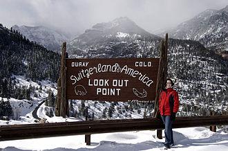 Mountain resort - Ouray, Colorado, nicknamed Switzerland of America