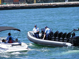 New South Wales Police Force - Water police on Port Jackson (Sydney Harbour)