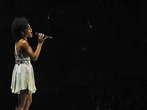Syesha Mercado - Mercado performing during the American Idols Live! Tour 2008.