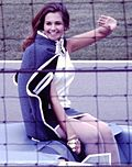 Sylvia Hitchcock, 1968 Indy 500 (cropped).jpg