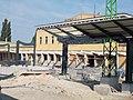 Székesfehérvár Railway Station. Main Building. - Székesfehérvár, Fejér county, Hungary.JPG
