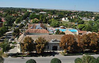Tótkomlós Town in Békés, Hungary