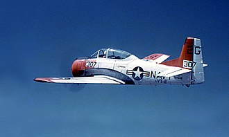 Naval Air Station Whiting Field - T-28B from Whiting Field in 1967