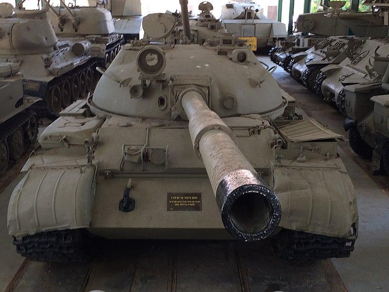 من سفر حرب اكتوبر 1973 ......معركة وادي الدموع .....باجزاء  800px-T-62_at_Batey_haOsef2