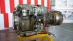T700-IHI-401C turboshaft engine left front view at JMSDF Kanoya Air Base April 30, 2017 01.jpg