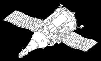 TKS (spacecraft) - Soviet TKS crew delivery/cargo ship