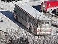 TTC bus 7819 turning north onto Berkeley, 2015 01 07 (1).jpg