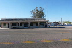 Tacna, AZ post office, ZIP Code 85352