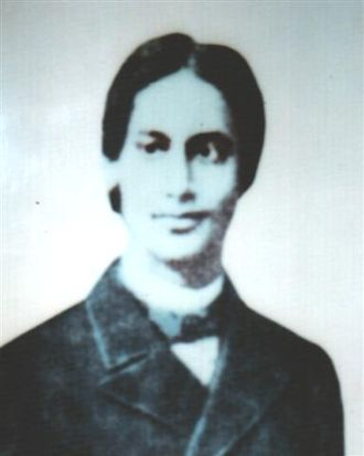Early life of Rabindranath Tagore - Tagore in 1879, when he was studying in England.