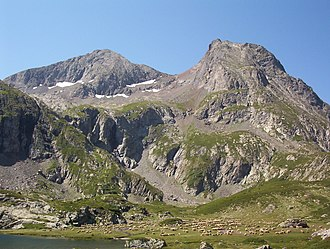 Le Taillefer - Image: Taillefer lac