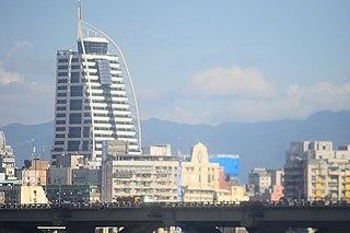 Oman TiT Residential skyscraper in Wanhua District of Taipei, Taiwan