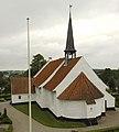 Tandslet Kirke set fra klokkehusets top.jpg