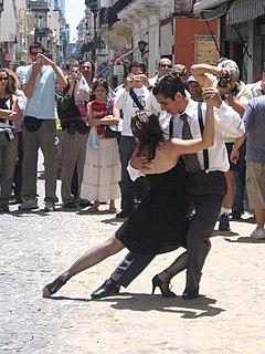 Tango Argentinian partner dance