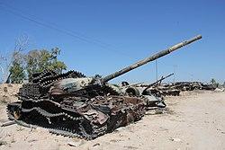 Tanks outside of Misrata (6) (8288579409).jpg