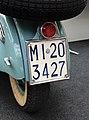 Targa automobilistica Italia MI 203427 Milano motocicletta.jpg