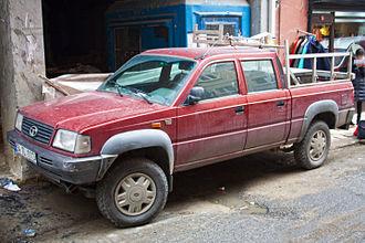 Tata Telcoline - Image: Tata Telcoline TDI double cab pickup (8566172154)