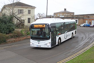 Irizar - Irizar i3LE (on Scania K250UB) demonstrator in the UK