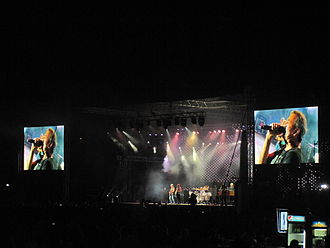 2013 in Georgia (country) - Deep Purple performing at the Tbilisi Open Air 2013.