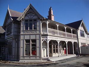 Rangi Ruru Girls' School - Te Koraha, the administration building of Rangi Ruru