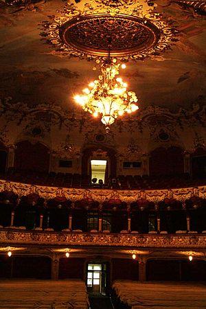 Iași National Theatre - The main auditorium