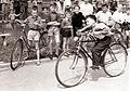 Tekmovanje cicibanov v vožnji s kolesom na Braniku v Mariboru 1959.jpg