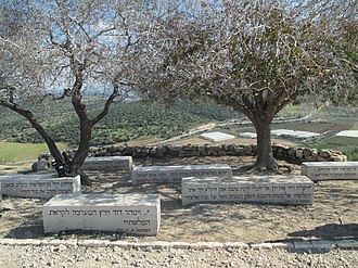 Azekah - Lookout with biblical verses