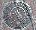 Telefonica manhole cover lloret de mar.JPG