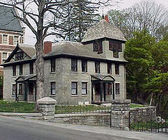 C. Willis Damon - Gatehouse (Remodeling), Grey Court, Methuen, MA. 1883.