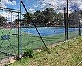 Tennis court at Highgate Cricket and Lawn Tennis Club, Crouch End, London 01.jpg