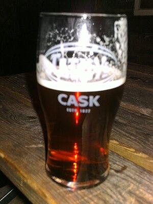 Tetley's Brewery - A pint of Tetley Cask