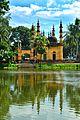 Tetulia Jami Mosque Refelection.jpg
