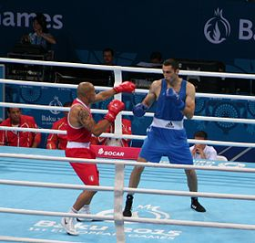 Teymur Mammadov vs Valentino Manfredonia at the 2015 European Games (Final).jpg