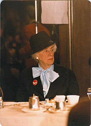Thérèse Casgrain - Casgrain in 1980