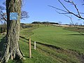 The 9th fairway at Galashiels Golf Course - geograph.org.uk - 314539.jpg