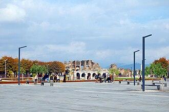 Amphitheatre of Capua - Image: The Amphitheatre of Santa Maria Capua Vetere 001