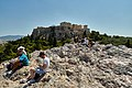 The Areopagus and the Acropolis on August 22, 2019.jpg