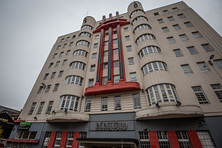 Beresford Hotel category B listed building in Glasgow, Scotland, UK