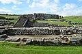 The Commanding officer's house (praetorium), Housesteads Roman Fort (Vercovicium) (42757474510).jpg