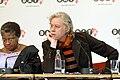 The DATA report 2007 press conference with Bono, Herbert Groenemeyer, Bob Geldof, Dr. Ngozi Okonjo-Iweala (499545893).jpg