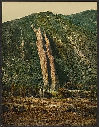 Devil's Slide (Utah) - Image: The Devil's Slide LCCN2008678212