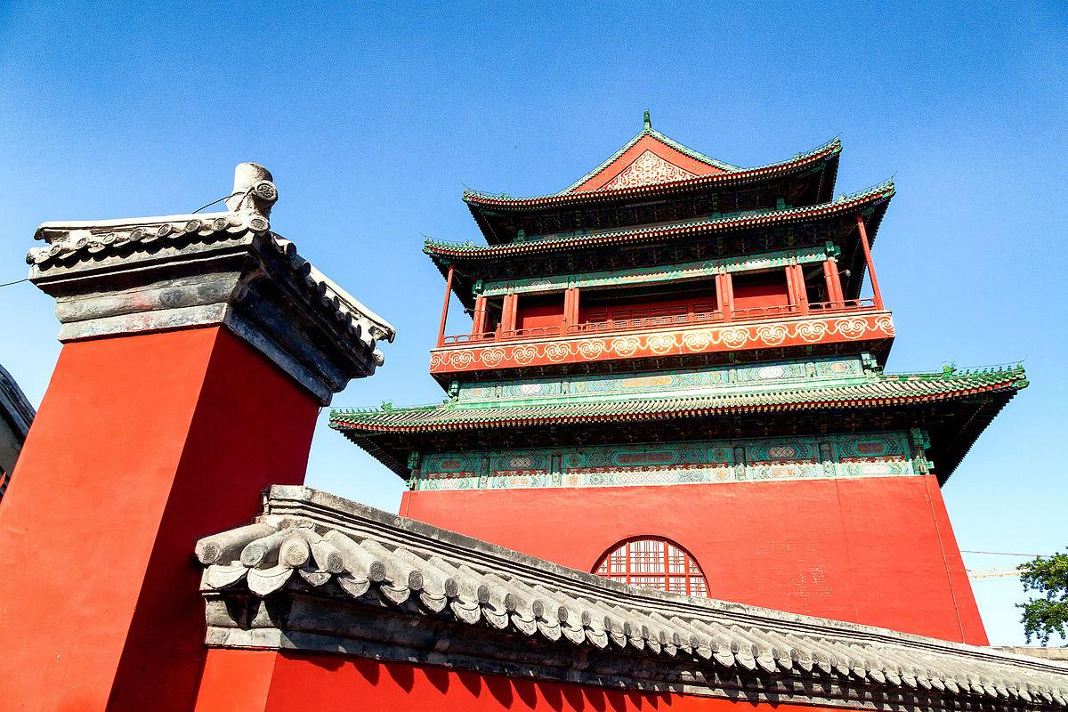 Resultado de imagem para drum tower beijing