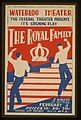 "The Federal Theater presents its opening play ""The royal family"" (at) Waterloo Theater LCCN98512469.jpg"