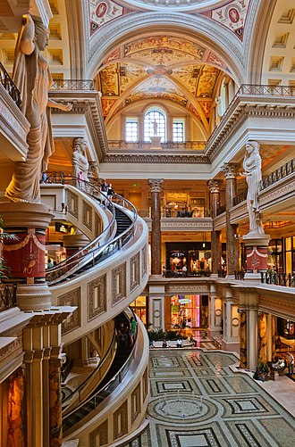 The Forum Shops at Caesars - Image: The Forum Shops at Caesar's